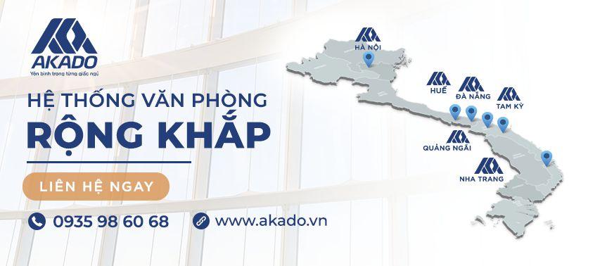 Cửa lưới chống muỗi Akado Nha Trang