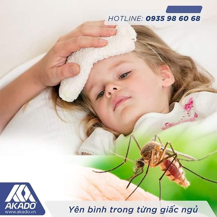 Muỗi đốt gây ảnh hưởng rất lớn đến sức khỏe   Cửa lưới chống muỗi AKADO