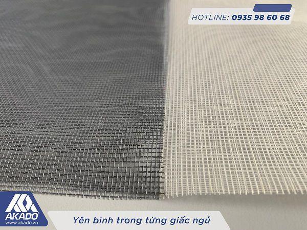 Sự khác nhau của lưới sợi thủy tinh trắng và xám