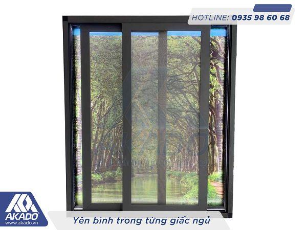 Cửa lưới chống muỗi lùa lưới inox