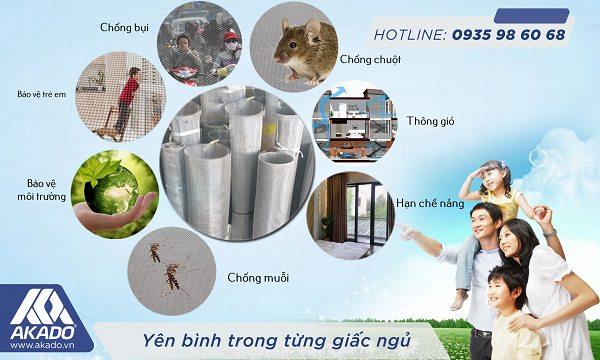 Công dụng của lưới chống muỗi inox